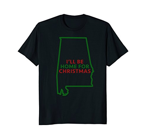 Alabama I'll Be Home For Christmas Novelty Holiday (Party City Huntsville)