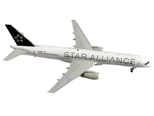 Gemini Jets US Airways B757-200 Diecast Aircraft, Star Alliance Livery, 1:2000 Scale