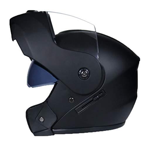 Mengyu Motorrad-Helm mit Doppelvisier Sonnenblende Motorradhelm Integralhelm Rollerhelm Fullface für Damen Herren…