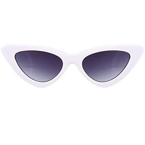 Amober Great Quality Women Fashion Cat Eye Shades Sunglasses Integrated UV Candy Colored Glasses ()