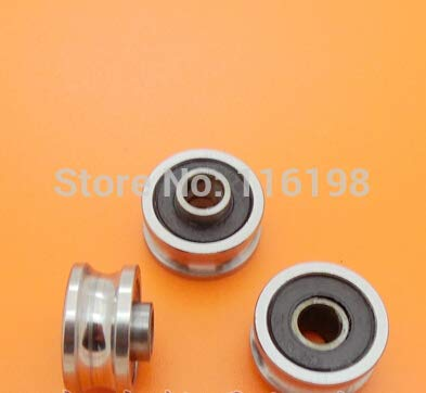 Ochoos SG15-2RS U Groove Pulley Ball Bearings 51789.75 mm Track Guide Roller Bearing SG15RS V17