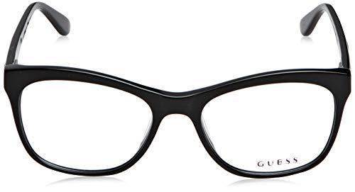 Amazon.com: anteojos Guess GU 2619 GU 2619 005 Negro/Otros ...