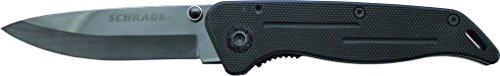 Schrade SCH404 Liner Lock Folding Knife Drop Point Ceramic Blade G-10 Handle by Schrade