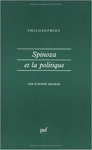 En ligne Spinoza et la politique pdf, epub