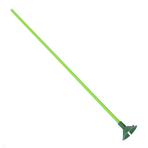 BARGAIN HOUSE Party supplies Green balloon stick w Multicolor cup 100 sets