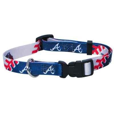 Atlanta Braves Adjustable Dog Collar - 3