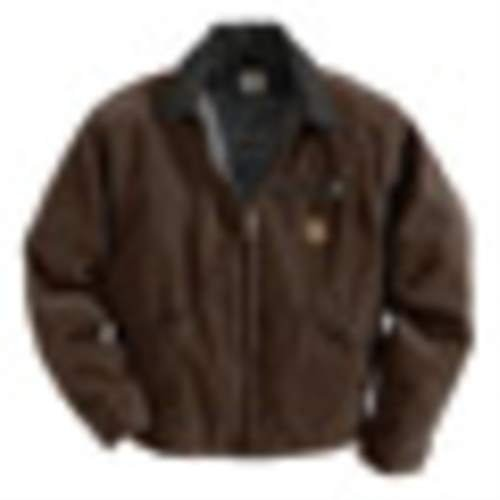 Md Regular Dark Brown 12 oz Cotton Sandstone Duck Blanket Lined Detroit (Blanket Lined Sandstone Detroit Jacket)
