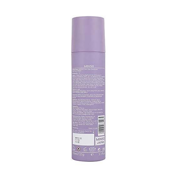 Miniso Unisex Non-Gas Deodorants Body Spray, 150ml (Brilliant)