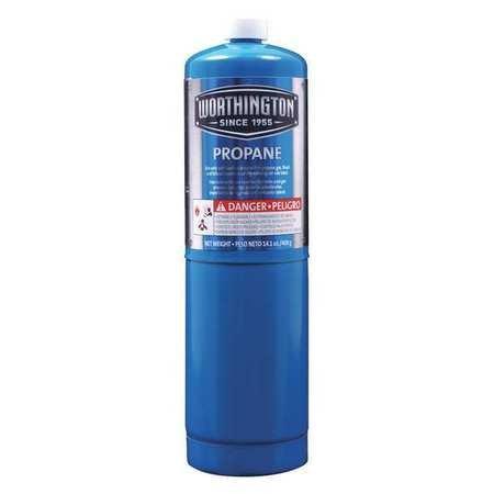 Worthington Fuel Cylinder, Propane, 14.1 oz