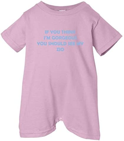 So Relative Unisex Baby Im Gorgeous See Mommy T-Shirt Romper