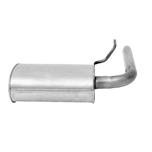 Exhaust Systems Resonator Pipe Muffler Exhaust System Kit Fits ...