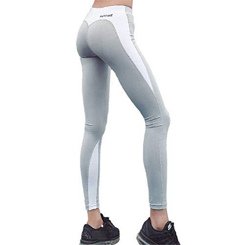 Estiramiento Pantalones Leggings Corazón Entrenamiento Alta Para Mujeres Gimnasio white Fitness Entr Forma Entrenamiento Ash Cintura Mujere Correr De Potencia Correr En Yoga 88pgWrz