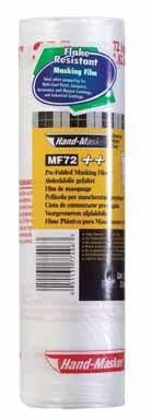3M MF72 Hand-Masker Pre-Folded Masking Film Plus, 72-Inch x 90-Foot