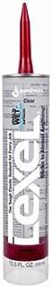 product image for Sashco 13010 10.5oz Sashco Sealants Clear Lexel Adhesive Caulk, 10.5-Ounce