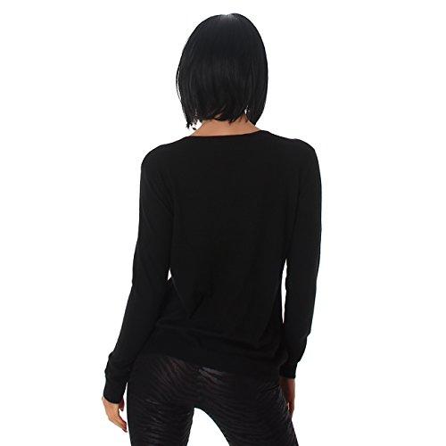 Voyelles - Jerséi - para mujer negro
