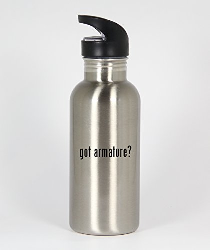 got armature? - Funny Humor 20oz Silver Water Bottle