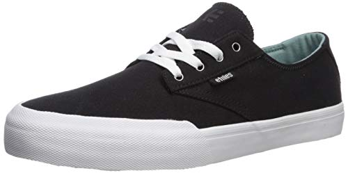 - Etnies Men's Jameson Vulc LS Skate Shoe Black/White/Silver 8.5 Medium US