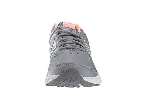 (ニューバランス) New Balance レディースウォーキングシューズ?靴 WW847v3 Grey/Pink 11 (28cm) B - Medium