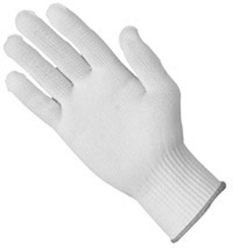 Zenport GN027 7 Gram Nylon Full Finger Glove Liners, 12-Pair