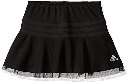 adidas Girls' Toddler Athletic Skort, Black ark, 3T