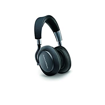 Bowers & Wilkins PX Active Noise Cancelling Wireless Headphones, High Performance, Space Grey