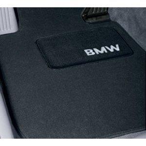 Genuine BMW 82 11 2 293 530 BMW Floor Mats - Black