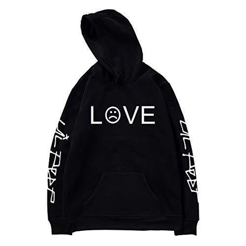 - Unisex Lil Peep Hoodie Love Printed Fashion Sport Hip Hop Hoodie Sweatshirt Pocket Jacket Pullover Tops