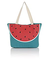 South Beach, Ladies Large Summer Beach Shopping Tote Bag
