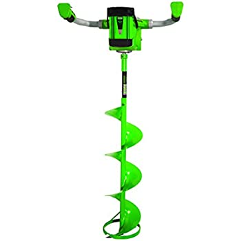 ION 19150 40V 3 amp-hour Electric 8-Inch Ice Auger, with Reverse