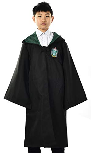 (Miliano Embroidered Hooded Cloak Robe Cosplay Costume Kids/Audlt)