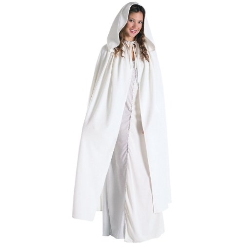 Arwen Dress Adult Costumes (Rubie's Costume Women's Lord Of The Rings Adult Arwen Cloak, White, Standard)