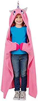 Allstar Innovations Snuggie Unicorn Soft, Hooded, Blanket