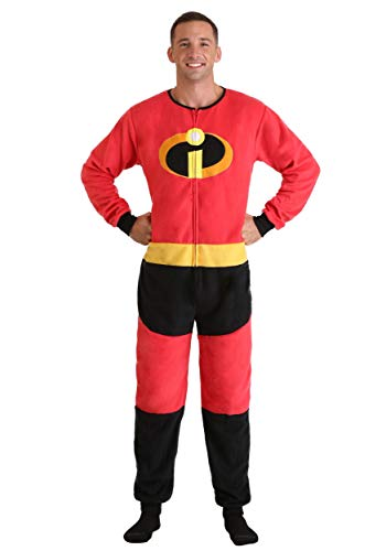 Incredibles 2 Disney Pixar Mr Incredible Union Suit Pajama for Men (Large/X-Large)]()