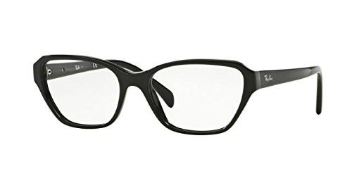 Ray-Ban Women's RX5341 Eyeglasses Shiny Black - Ban Ray $20