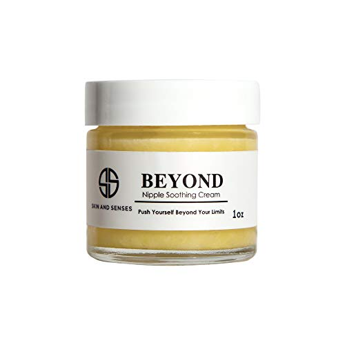 Beyond Nipple Soothing Cream for Breastfeeding Mothers | Lanolin-free, Safe for Nursing & Dry Skin |Offers Soothing Protection, Hypoallergenic, All-Natural Ingredients by Skin And Senses