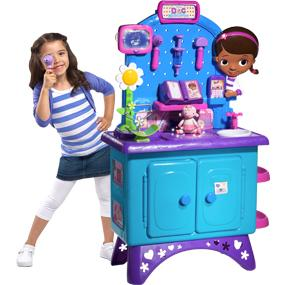 The Doc McStuffins Check Up Center lets any child help heal their toys