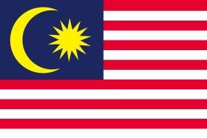世界の国旗 マレーシア 国旗 [140×210cm 高級テトロン製]   B0090ZVSUM