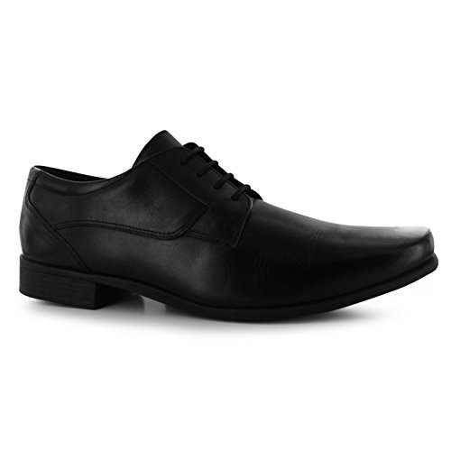 Kickers Mens Vintner Shoes Smart Formal Style Lace up Front Heel Black UK 8 (42) by Kickers