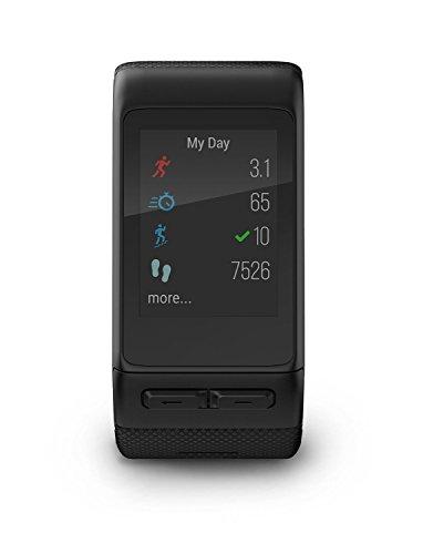 Garmin Vivoactive HR GPS Smart Watch, WW, Regular Fit - Black