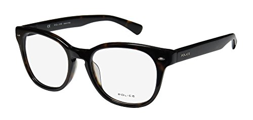 Police Eyeglasses V1739 V/1739 0722 Tortoise Full Rim Optical Frame - Frames Optical Luxury