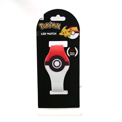 (닌텐도 스위치 포켓몬스터) Nintendo Switch 포케몬 LED실리콘 워치(몬스터 볼무늬)