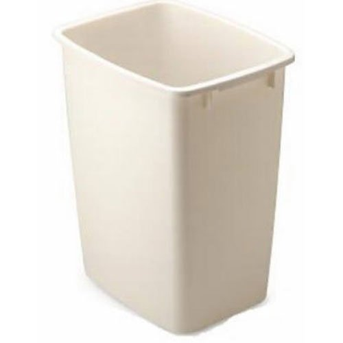 Rubbermaid Bisque Wastebasket, 36-Quart (Quart Wastebasket)