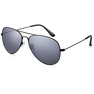 JAVIOL Polarized Aviator Sunglasses for Women Men Classic Metal Glasses with UV400