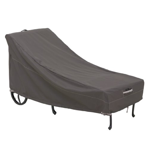 Lounger Chaise Teak Adjustable (Classic Accessories 55-145-015101-00 55-145-015101-EC Ravenna Patio Chaise Cover, Medium, Taupe)