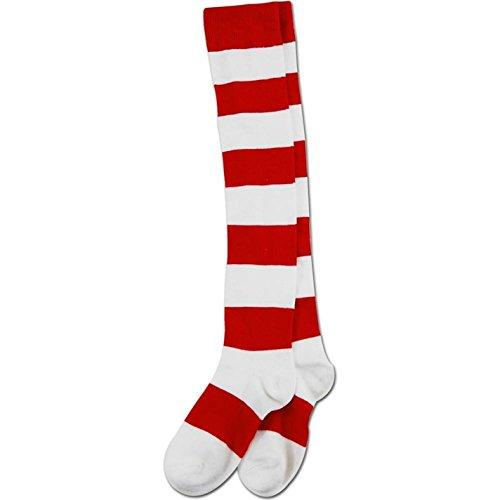 elope Where's Waldo Deluxe Wenda Socks - Where's Waldo Costume Woman