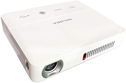 Salora DBS350 Video - Proyector (1600 lúmenes ANSI, DLP, WXGA ...