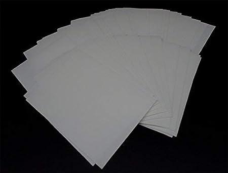 Pokemon Magic docsmagic.de 100 Mat White Card Sleeves Standard Size 66 x 91 Bustine Bianco