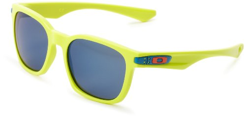 Oakley Garage Rock OO9175-14 Iridium Sport Sunglasses,Neon,55 - Sunglasses Oakley Edition Limited