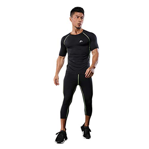 Reflex Sportswear - ROLYPOBI Workout Training TanksMen's Sportswear HIGT Elastic Clothes Fitness Running Jogging Tight Suit Clothes