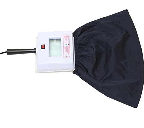 Wood's Square Lamp Viewer Skin Analyzer with Light Blocking Hood